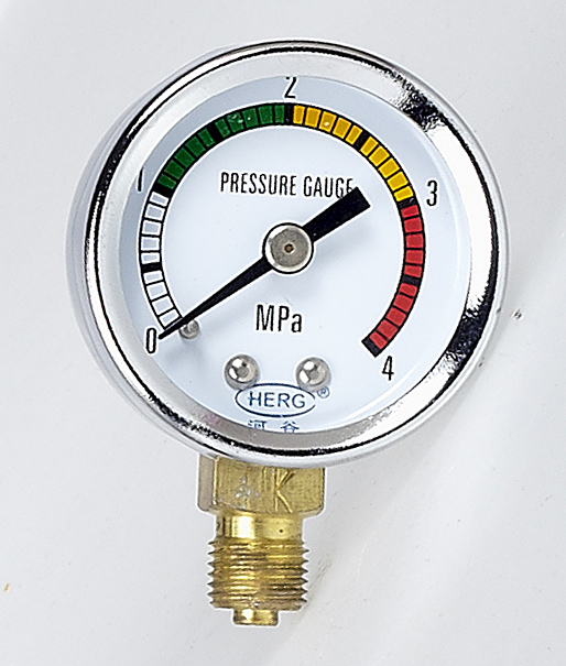 pressure guage herg lubrication india